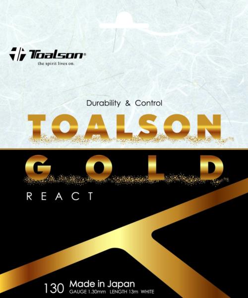 TOALSON GOLD 130 REACT【Nylon】