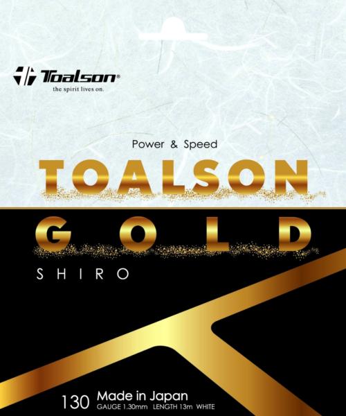 TOALSON GOLD 130 SHIRO【Nylon】