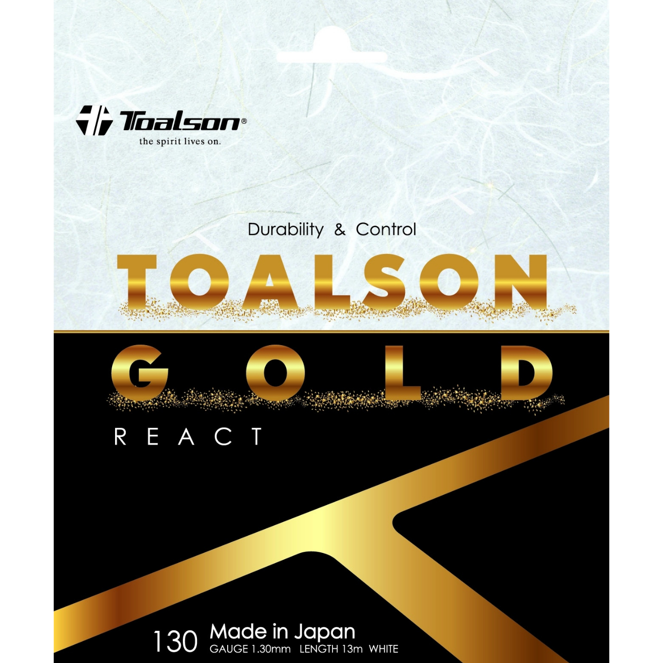 TOALSON GOLD 130 REACT